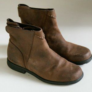L.L Bean Brown Leather Short Work Chore Boots